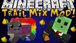 Minecraft Mods: Trail Mix Mod Drugs & Farting Pigs