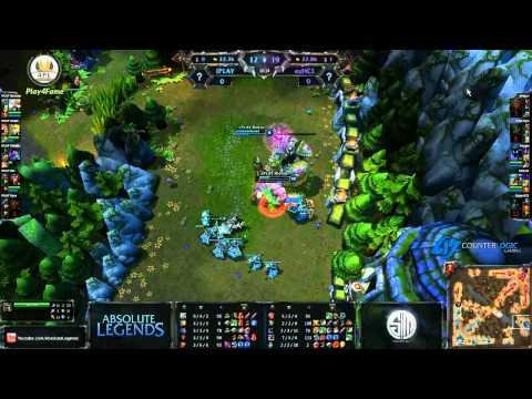 Видео League of Legends с комментариями 2KXAOC