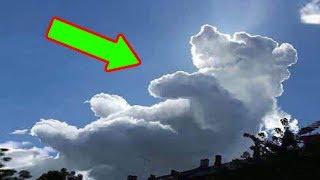 10 Đám Mây Kỳ Lạ Và Hiếm Có Được Ghi Lại Từ Camera.