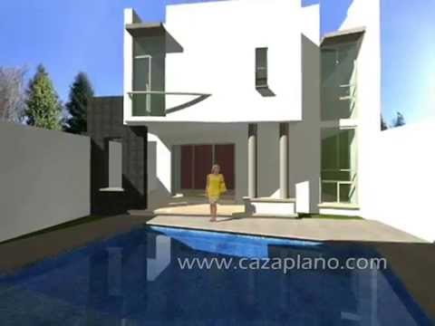 Diseños de casa moderna 3D, incluye planos de casas, Design house, virtual tour and Home & design