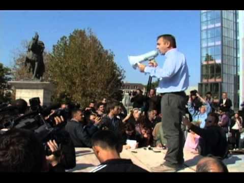 Fjala e Rexhep Selimit në protestën kundër dhunës qeveritare dhe brutalitetit policor