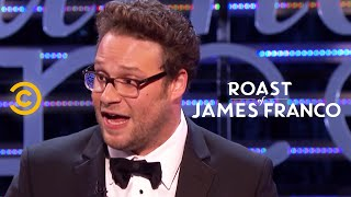 Roast of James Franco - Seth Rogen Draws First Blood - Uncensored