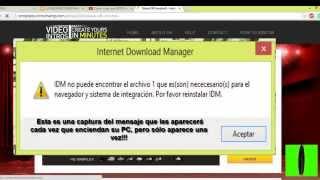 Internet Download Manager Ha Sido Registrado Con Un