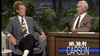 Johnny Carson: David Letterman on Jay Leno, 1991