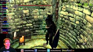 Dark Souls Dragon Punch Only speedrun