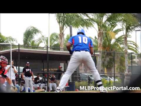 Lewin Diaz, Dominican Prospect League - Minnesota Twins, OF