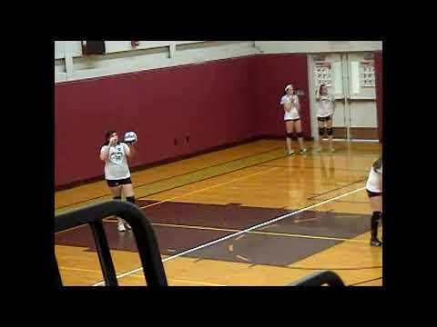 NAC - NCCS JV Volleyball 10 -19-12