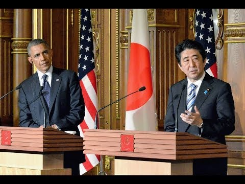 U.S. and Japan tackle trade issues during Obama's visit