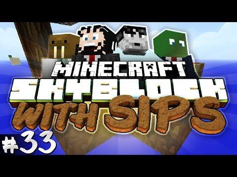 Minecraft: Skyblock with Yogscast Sips #33 - Vietnamese Landmine