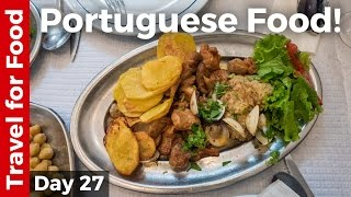 Portuguese Food Tour - FULL DAY of Eating in Lisbon, Portugal!