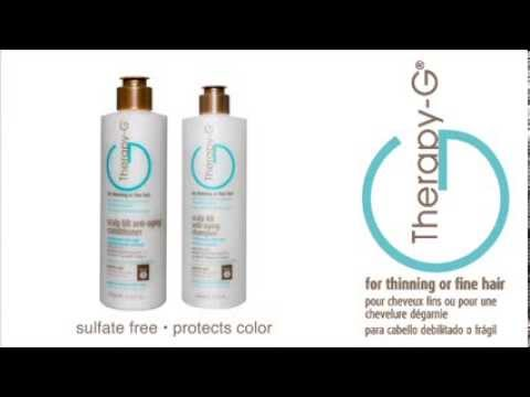 Therapy G scalp BB anti aging and anti  hair loss shampoo and conditioner