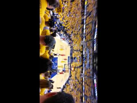 crowd noise at Pacers and Hawks Game 7 as Pacers win and advance (May 3rd, 2014)