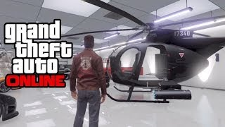 "GTA 5 Online How To Save/Insure A ""Buzzard"" Helicopter"