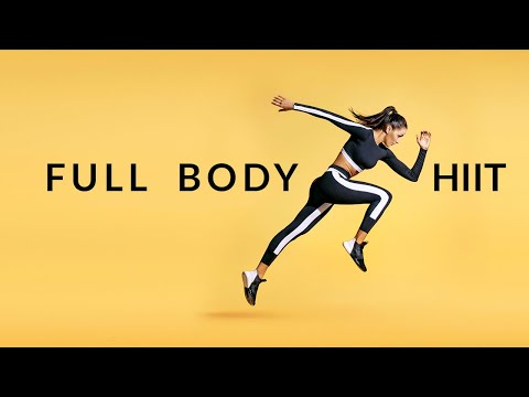 Full Body HIIT Routine (Build Muscle & Burn Fat)