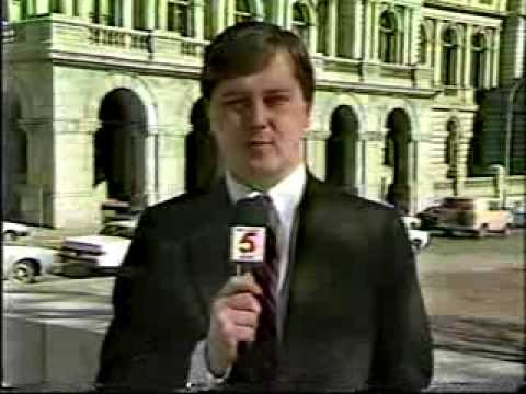 WTVH Channel 5 News broadcast w/commercials - 2/24/87 - Syracuse NY
