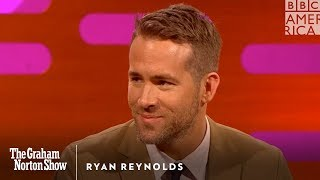 Ryan Reynolds Says Canadians are Bad Liars - The Graham Norton Show