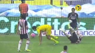 Los Goles Del Clásico América 2-0 Chivas Apertura 2013