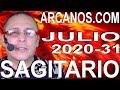 Video Horóscopo Semanal SAGITARIO  del 26 Julio al 1 Agosto 2020 (Semana 2020-31) (Lectura del Tarot)