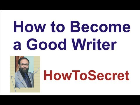 How to Become a Good Writer of English Language