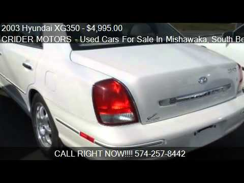 2003 Hyundai XG350 Base - for sale in Mishawaka, IN 46545