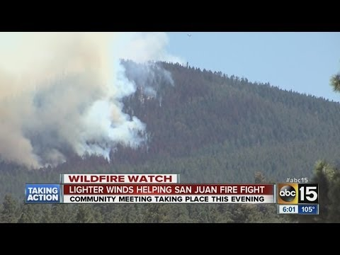Crews making progress against Ariz. wildfire