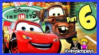 Disney Infinity Wii U Walkthrough Cars Part 6 Sandstorm