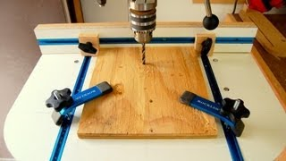Drill Press Table How To Make Woodworking Video Tutorial
