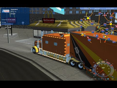 ▀▄▀ 18 Wheels of Steel Truck & Trailer Mods. WATCH IN HD 18 WOS ✌