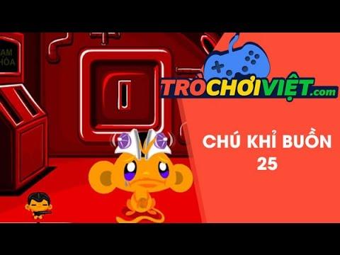 Game chú khỉ buồn 25 - Video hướng dẫn cách chơi game