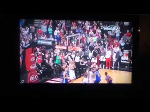 Klay Thompson game winning three pointer
