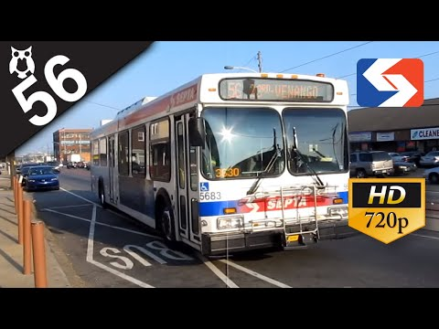 SEPTA Ride: 2003 New Flyer D40LF #5683 on route 56 to 23rd-Venango
