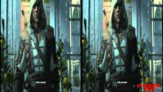 YT3D - Assassins Creed IV 3D: Black Flag Very High Settings S5M3 Walkthrough Live Stream Part 9