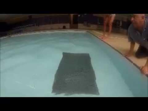 Manutenção de piscina - Reparo Submerso - Ralo com elevação perigo de acidentes