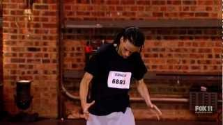 SYTYCD S09E01 - Hampton Williams 'Exorcist Style' (Full Audition)