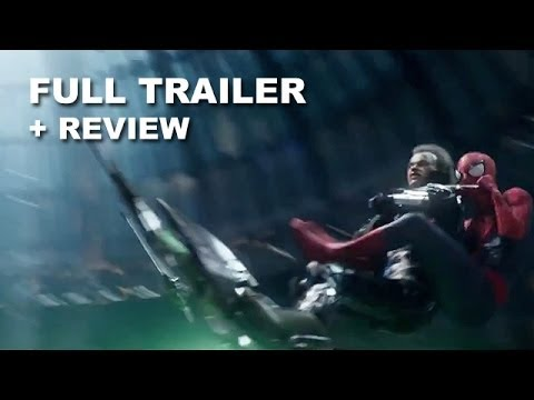 The Amazing Spider-Man 2 Official FINAL Trailer + Trailer Review : HD PLUS