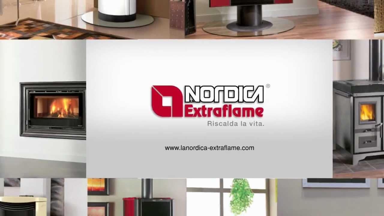 La Nordica Extraflame : Futura la nordica extraflame youtube