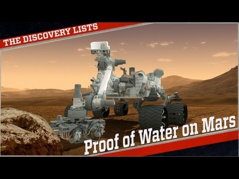 Official Proof of Water on Mars!