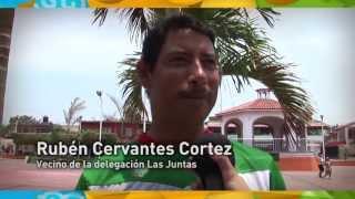 Ramón Guerrero reinaugura la plaza de Las Juntas