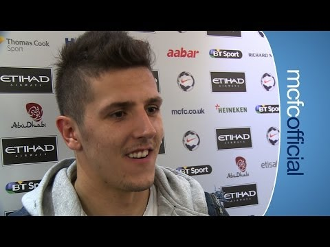 JOVETIC ON THE TITLE City 4-1 Southampton post match interview