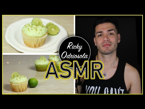 ASMR - Baking Key Lime Cupcakes  (Male Whisper for Relaxation & Sleep)