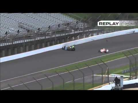 Hawksworth Crash @ 2014 Indy 500 Practice