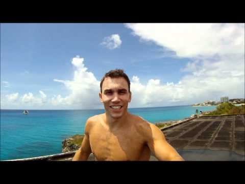 Michal Navratil - jumped from hotel roof in St. Maarten