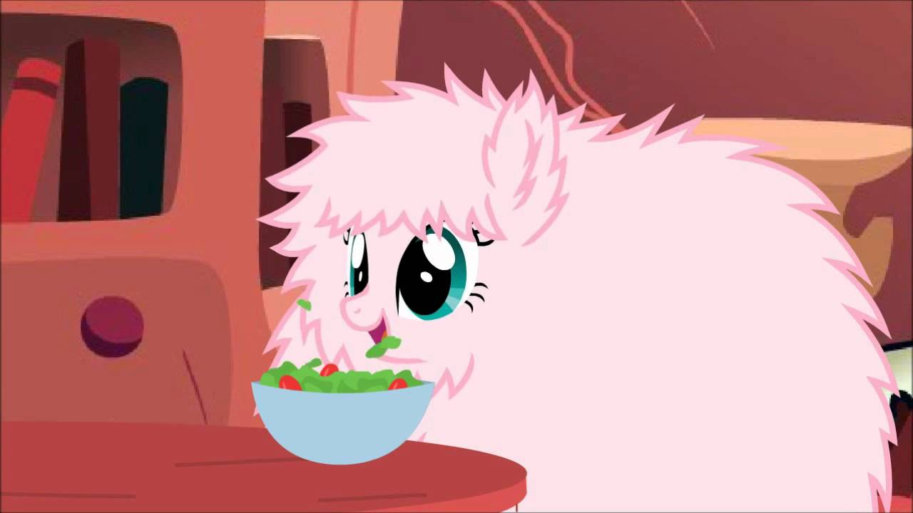 Fluffy Pony Eating Loop Youtube