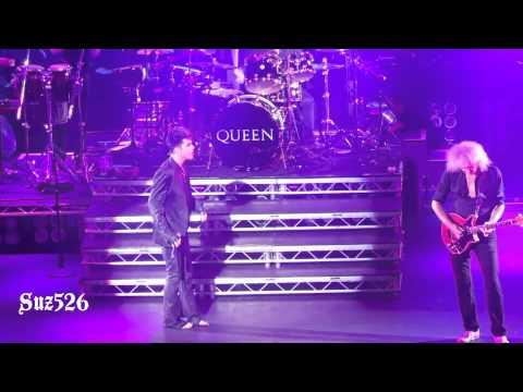 """17 Queen+Adam Lambert """"Crazy Little Thing Called Love"""" London 7/11/12"""