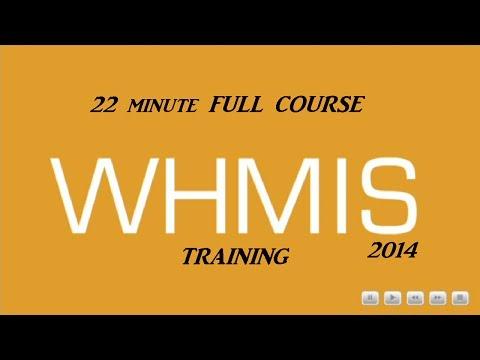 Fastest 2014 WHMIS Course (Complete) 22mins