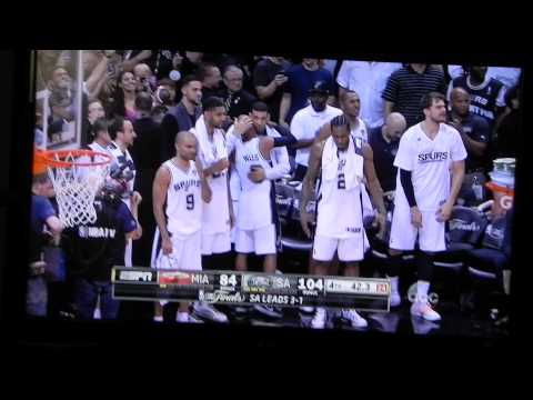 2014 NBA Finals Game 5 Final 2 Minutes