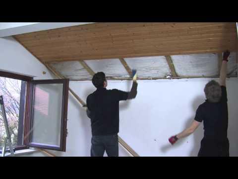 Steico - Okologische Dachsanierung von Innen mit STEICOflex