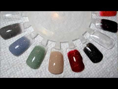 OPI Liquid Sand & Zoya Pixie Dust Swatches With Top Coat