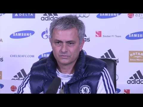 SHOCK! Jose Mourinho NOT in the mood for talking!