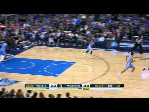 Denver Nuggets vs Dallas Mavericks | March 21, 2014 | NBA 2013-14 Season